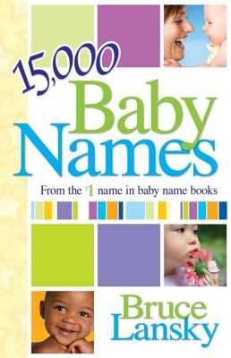 15,000+ Baby Names Cover Image
