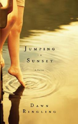 Jumping in Sunset Cover