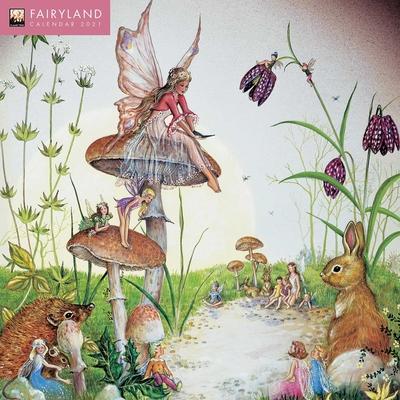 Fairyland Wall Calendar 2021 (Art Calendar) Cover Image