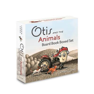 Otis and the Animals Board Book Boxed Set Cover Image