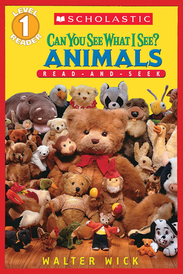 Animals: Read-And-Seek Level 1 (Can You See What I See?) Cover Image