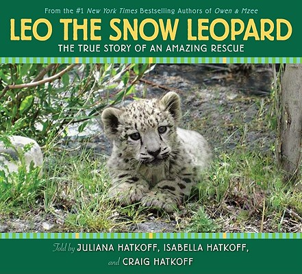Leo the Snow Leopard Cover