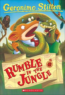 Rumble in the Jungle (Geronimo Stilton #53) Cover Image