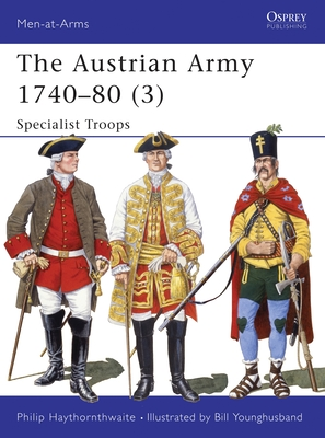 The Austrian Army 1740-80 (3) Cover