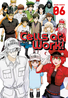 Cover for Cells at Work! 6