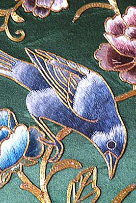 Journal: Chinese Silk Embroidery Bird Cover Image