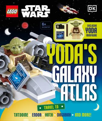 LEGO Star Wars Yoda's Galaxy Atlas: With Exclusive Yoda LEGO Minifigure Cover Image