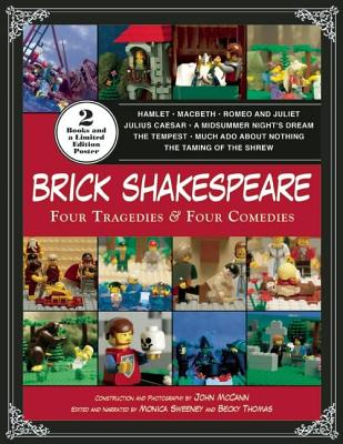 Brick Shakespeare: Four Tragedies & Four Comedies [With Poster] Cover Image