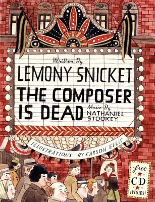 The Composer Is Dead [With CD (Audio)] Cover