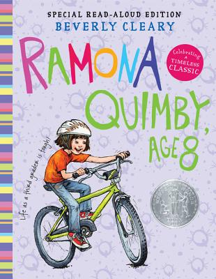 Ramona Quimby, Age 8 Read-Aloud Edition Cover Image