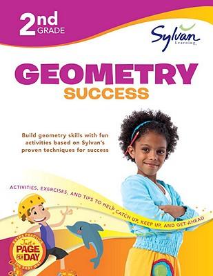 Second Grade Geometry Success (Sylvan Workbooks) Cover