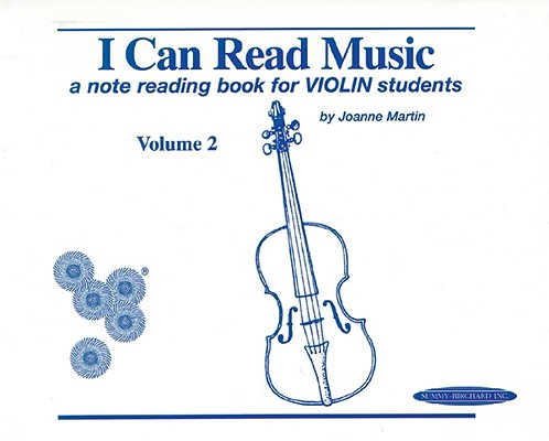 I Can Read Music, Vol 2 a Note Reading Book for Violin Students Cover Image