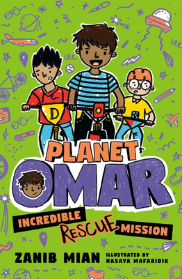 Planet Omar: Incredible Rescue Mission Cover Image