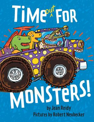 Time Out for Monsters! Cover