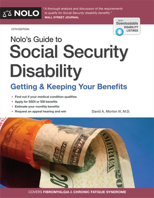 Nolo's Guide to Social Security Disability: Getting & Keeping Your Benefits Cover Image