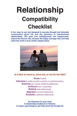 Relationship Compatibility Checklist (Paperback) | Book Soup