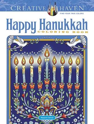 Creative Haven Happy Hanukkah Coloring Book (Creative Haven Coloring Books) Cover Image