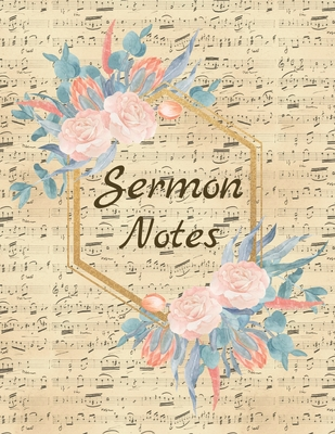 Sermon NotesSpecial Edition-Color InteriorBullet Journal Bible Verse Christian arts gifts Journal with lined paper Sermon Notebook Cover Image