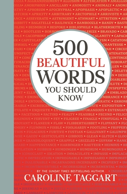500 Beautiful Words You Should Know Cover Image
