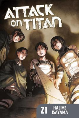 Attack on Titan 21 Cover Image