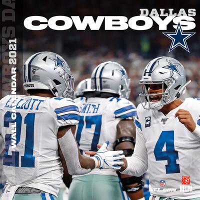 Dallas Cowboys 2021 12x12 Team Wall Calendar Cover Image