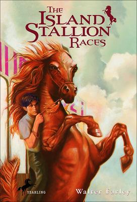 Cover for The Island Stallion Races (Black Stallion)