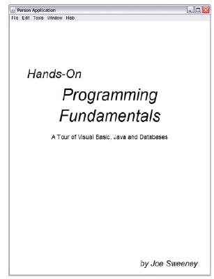 Hands on Programming Fundamentals Cover Image