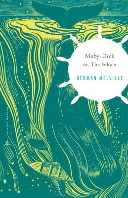 Moby-Dick: or, The Whale (Modern Library Classics) Cover Image