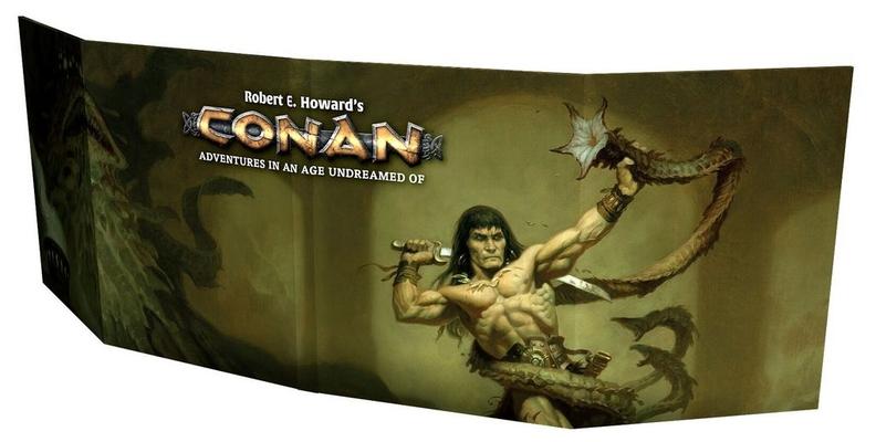 Conan GM Screen Cover Image