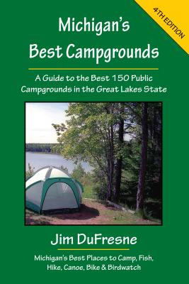 Michigan's Best Campgrounds Cover Image