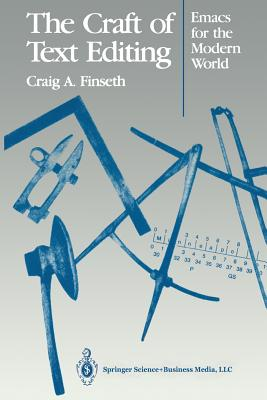 The Craft of Text Editing: Emacs for the Modern World Cover Image