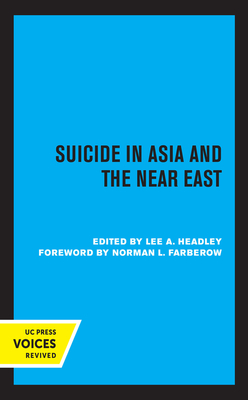 Suicide in Asia and the Near East Cover Image