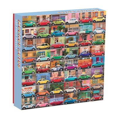Muchos Autos 500 Piece Puzzle Cover Image
