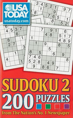 USA TODAY Sudoku 2: 200 Puzzles from The Nation's No. 1 Newspaper (USA Today Puzzles) Cover Image