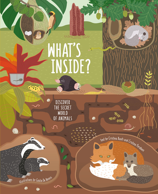 What's Inside?: Discover the Secret World of Animals Cover Image