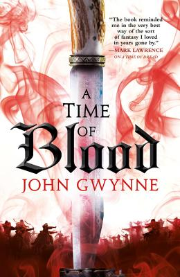 A Time of Blood (Of Blood & Bone #2) Cover Image