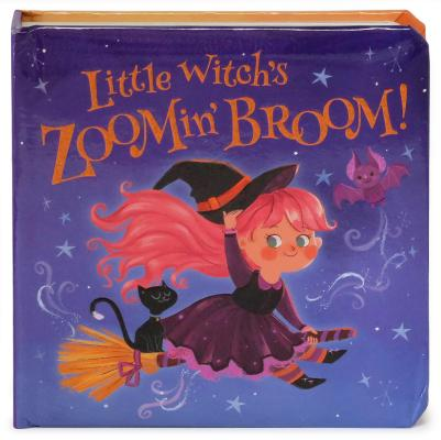 Little Witch's Zoomin' Broom (Little Bird Stories) Cover Image
