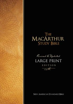 MacArthur Study Bible-NASB-Large Print Cover Image