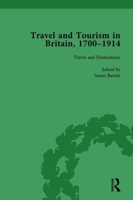 Travel and Tourism in Britain, 1700-1914 Vol 1 cover