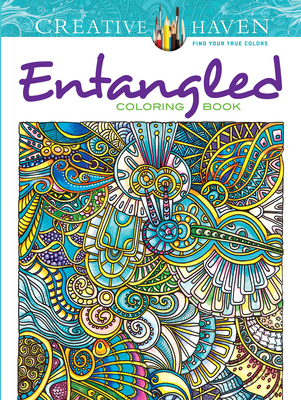 Creative Haven Entangled Coloring Book (Adult Coloring) Cover Image