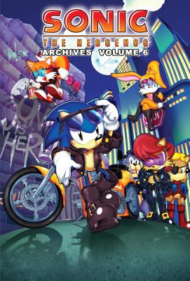 Sonic the Hedgehog Archives, Volume 6 Cover
