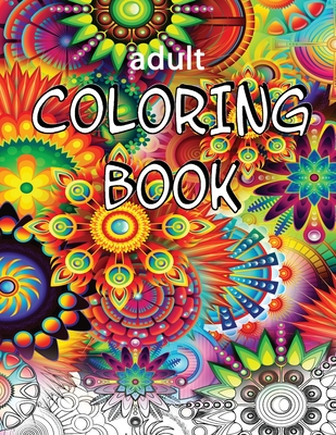 Adult Coloring Book: Expert Level - Mind-Boggling Fractals, Mandalas and Patterns Cover Image