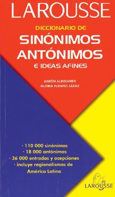 Diccionario de Sinónimos, Antónimos, E Ideas Afines ... - photo#6
