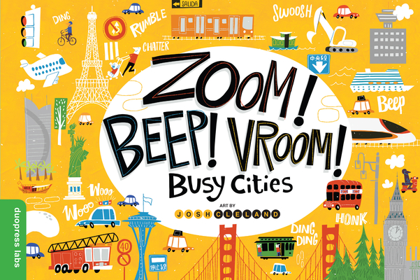 Cover for Zoom! Beep! Vroom! Busy Cities