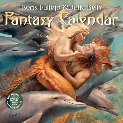 Cover for Boris Vallejo & Julie Bell's Fantasy Wall Calendar 2022