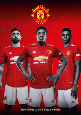 The Official Manchester United Calendar 2021 Cover Image