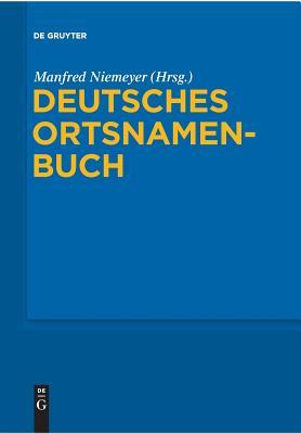 Deutsches Ortsnamenbuch Cover Image