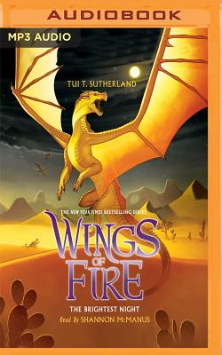 The Brightest Night (Wings of Fire #5) Cover Image