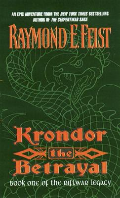 Krondor the Betrayal: Cover