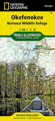 Okefenokee National Wildlife Refuge (National Geographic Trails Illustrated Map #795) Cover Image
